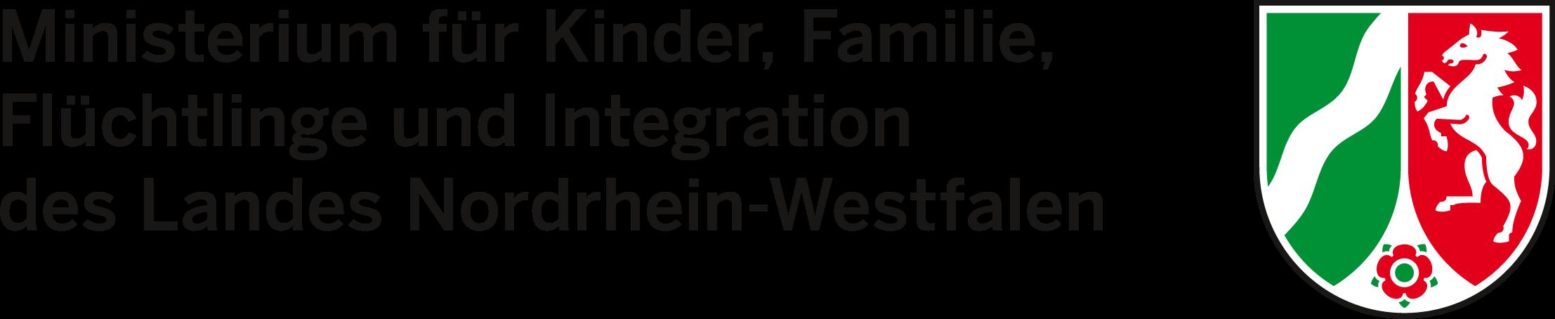 Logo des Ministeriums für Kinder, Familie, Flüchtlinge, Integration NRW